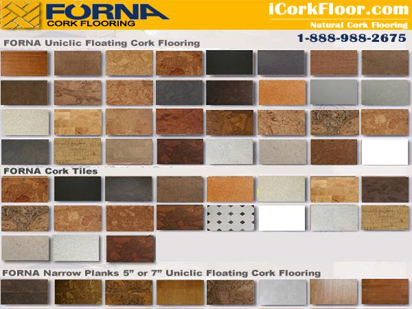 Flooring for basement - cork  Warm  comfortable floor
