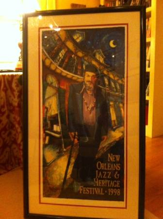 Official 1998 Jazz Fest poster -   x0024 475  South Highlands