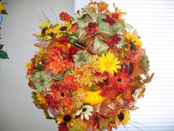 all year  DECO MESH WREATH - $45 (SHREVEPORT LA)