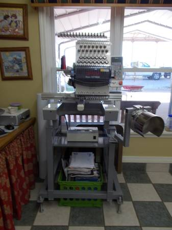 Toyota ESP 9000 Embroidery Machine - $6500 (Keatchie, Louisiana)