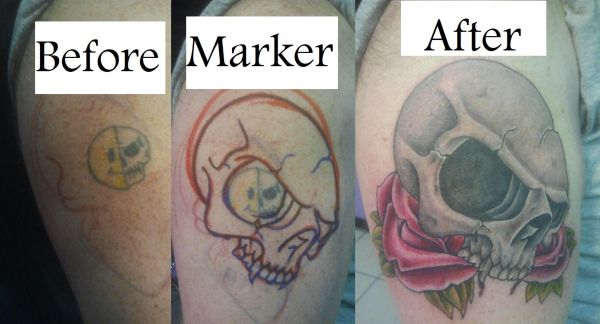 tattoos at a good price (bossier city)
