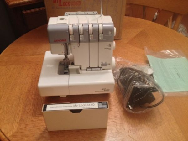Janome 634D Serger REDUCED MAKE ME AN OFFER - $495 (Mooringsport, La)