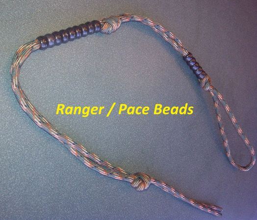 550 PARACORD RANGER PACE BEADS FOR LAND NAVIGATION - $3 (Bossier City Shreveport)