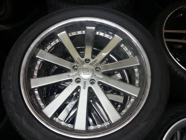 22 Fortune Alloy Wheels Tires - $595 (Shreveport, LA)