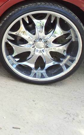 24 inch rims tires - $1300 (Shreveport)