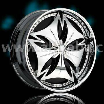 22in dub floaters rims only - x00241200 (shrevport)