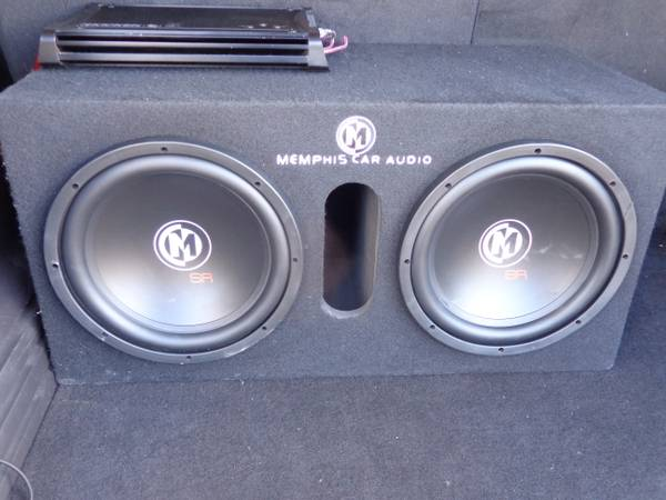 2 Memphis SR 12s in a ported box and Kicker Amp - $250 (Barksdale Air Force base)