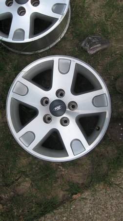 17 fx4 ford rims - $400 (blanchard )