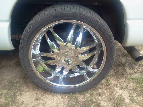 24 inch rims and tires great deal - $1100 (mansfield, la)
