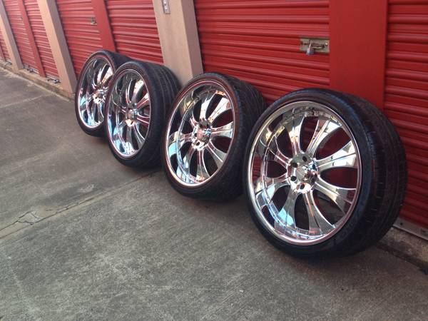 26 inch Lexani Rims and Tires - $2200 (Shreveport)