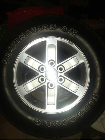 GMC Stock Rims and Tires - $350 (Keithville )