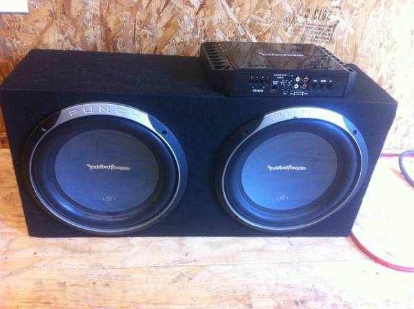 Rockford fosgate p2 12 power 500.1 - $300 (Keithville)