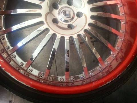 24 inch Asanti Rims tires Staggered - $2500 (Shreveport )