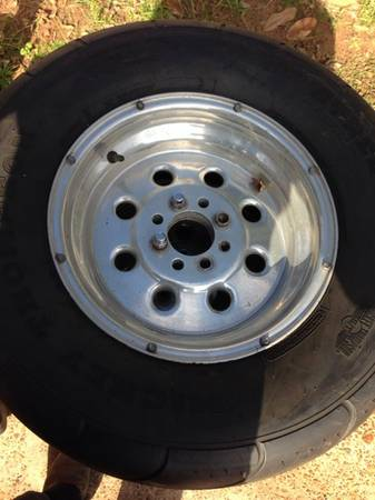 Weld racing wheels with Mickey Thompson drag radials - $550 (Bossier City La)
