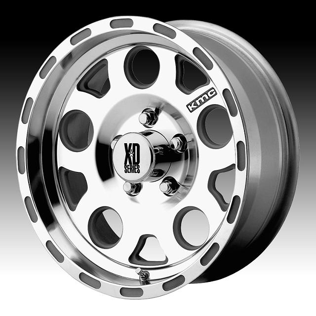 300  98 Ford F-150 18x8 KMC XD Series XD122 Enduro Machined Custom Wheels Rims
