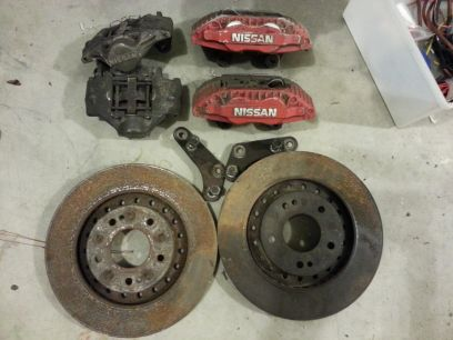 300zx big brakes 240sx swap - $300 (bossier city)