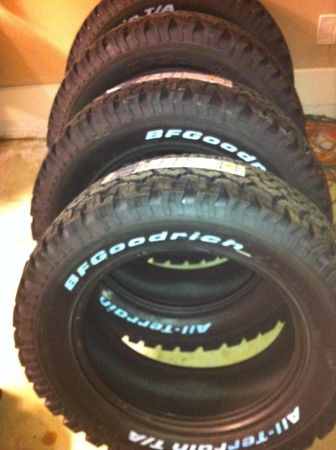 (4) NEW BF GOODRICH AT TIRES 30555R20 - $1500 (West Monroe)