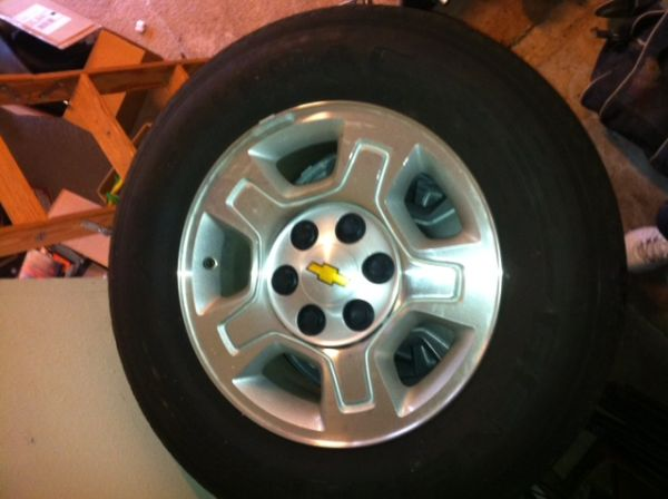 Silverado Rims and Tires - $600 (Bossier City, LA)