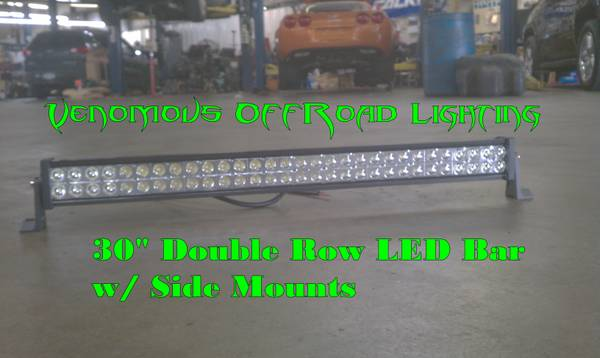 30 Double Row LED Offroad Light Bar Brand New - $300 (Shreveport Area)