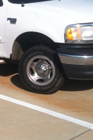 97-03 f150 factory rims and tires - $75 (south bossier)