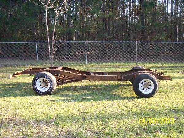 1968 CHEVY SHORT BED TRUCK FRAME - $350