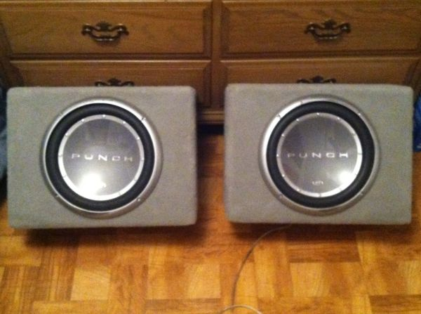 (2) 12 Rockford Fosgate Punch P2 Subwoofers in Boxes - $200 (Stonewall)