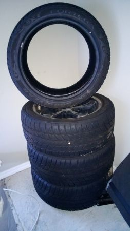 22 Goodyear Fortera Tires --like new - $500 (Haughton, LA)