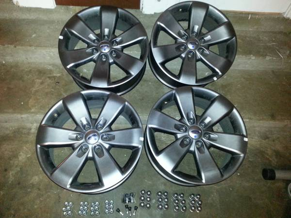 Ford F150 FX2 FX4 20 OEM Wheels (4) - $800 (Shreveport, LA)