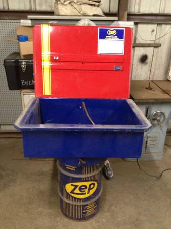Zep Dyna Clean Parts Washer Espotted