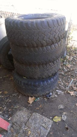 3312.50R17LT tires for sale - $200