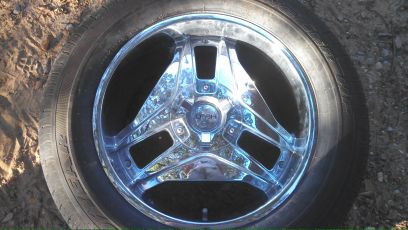dodge ram rims and tires - $400 (sarepta )