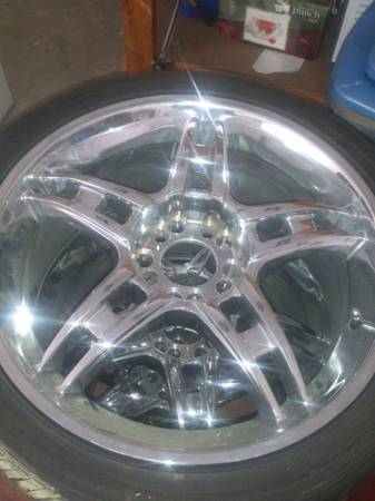 18 in 5 lug universal rims - $400 (shreveport)