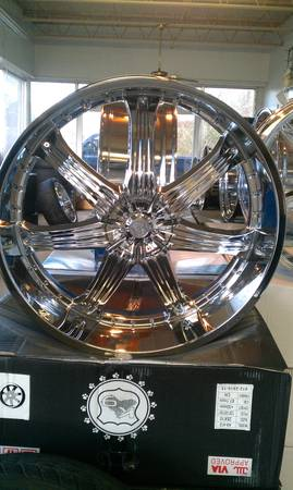 28 inch rims new a week old - $2800 (mississippi)