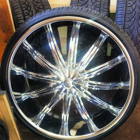 28 inch 6lug rims needs one tire - $2000 (Shreveport )