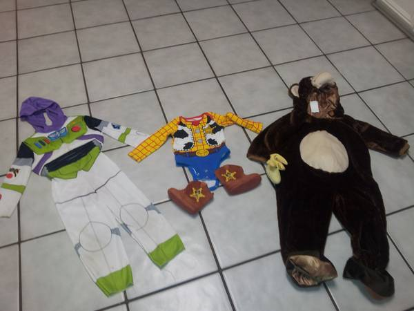 Toddler Halloween Costumes - $60 (shreveport)