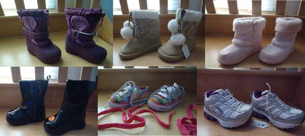 Girls shoes sizes nb to 7 38 pairs to chose from (Plain dealing)
