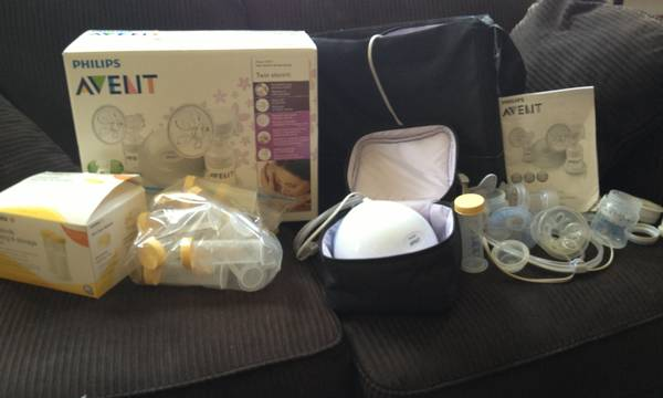 Avent Breast Pump and Medela Storage Tubes - $80 (Shreveport)