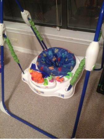 Jeep double umbrella stroller and deluxe jumperoo - $40 (Shreveport )