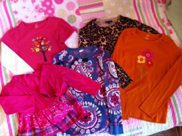 Like New name brand girls clothes size 10-12 - $35 (north bossier city)