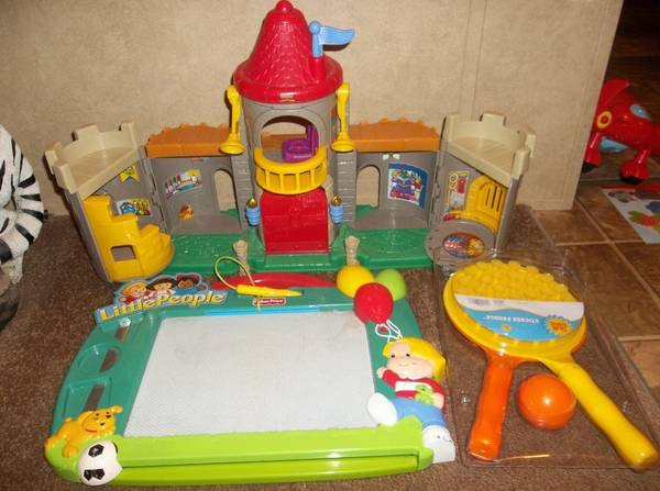 Lot of Fisher Price Little People toys, Curious George, etc -All for - $25 (Greenwood, LA)
