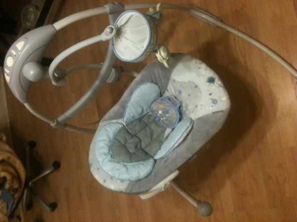 Ingenuity brand new automatic baby swing - $40 (Highlands, sport)