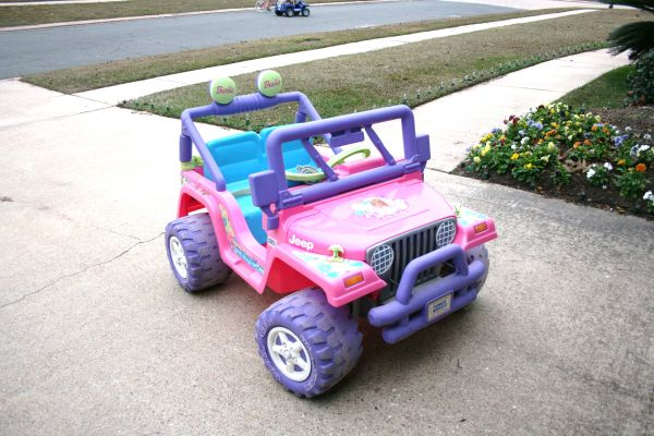 Barbie Jeep by Power Wheels - $50 (South Shreveport)