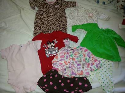 baby girl clothes 3-6 months - $30 (Shreveport)