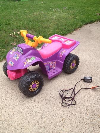 Power Wheels Dora 4-wheeler - $40 (South Highlands)