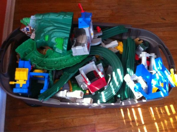 HUGE lot Geo-trax trains - $45 (South Highlands)