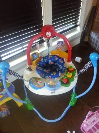 Fisher Price laugh and learn jumperoo - $60 (Bossier City)