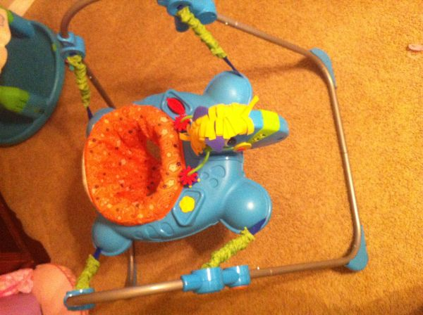 Fisher Price-Galloping Jumperoo - $50 (South Bossier)