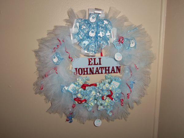 BABY HOSPITAL DOOR WREATHS - $50 (coushatta,LA.)