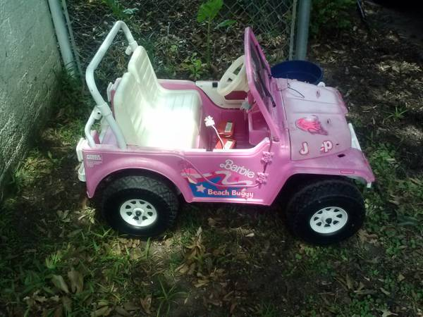 Barbie Jeep Power Wheel - $40 (Shreveport off Line Ave)