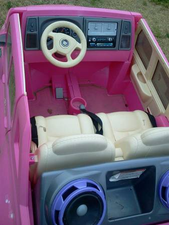 Barbie Cadillac Escalade Jeep - $250 (Northwood Trace)